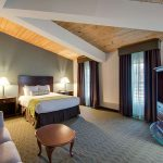 2 room suite with queen bed at Best Western Plus The Inn at Hampton