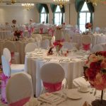 banquet room with white and pink accents Best Western Plus The Inn at Hampton